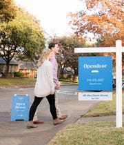 Opendoor allows home shoppers to tour a home without an appointment through its app