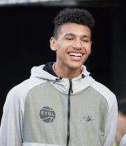Vanderbilt basketball signee Dylan Disu, a 6-8 forward from Pflugerville, Texas.