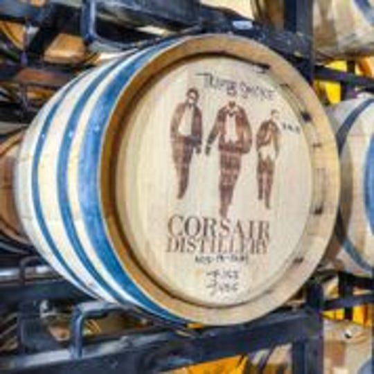 Corsair Distillery has two locations in Nashville and is planning a third.