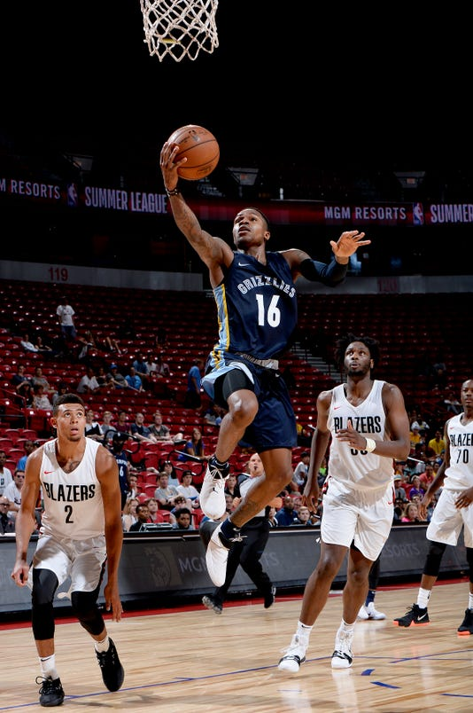 2018 Nba Summer League Las Vegas Memphis Grizzlies V Portland Trail Blazers