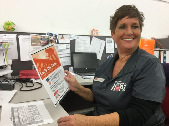 Ashley Jones, director of social services and disaster recovery for the Salvation Army in Collier County.