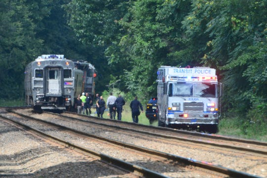 A person was struck and killed by an NJ Transit train just north of the Ramsey train station on Tuesday, September 4, 2018.