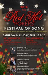 Red Hot Pokers Festival of Song presents.