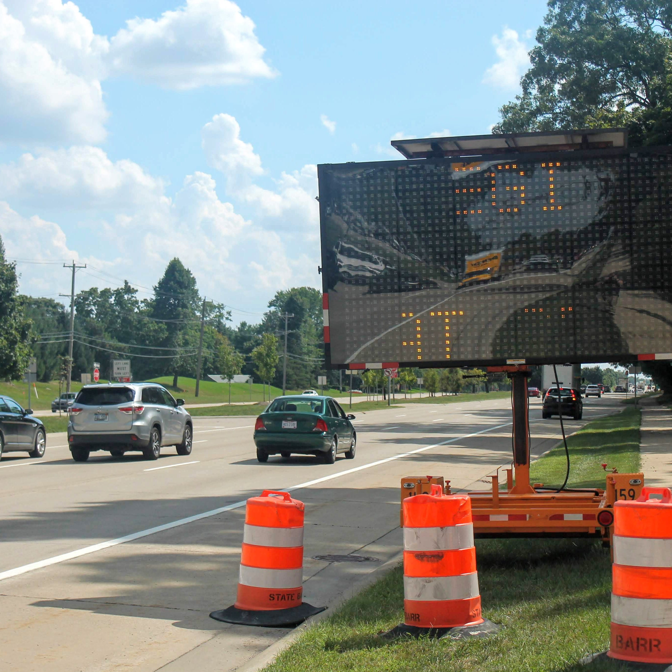 Some work on Telegraph Road in Bloomfield Township beginning today