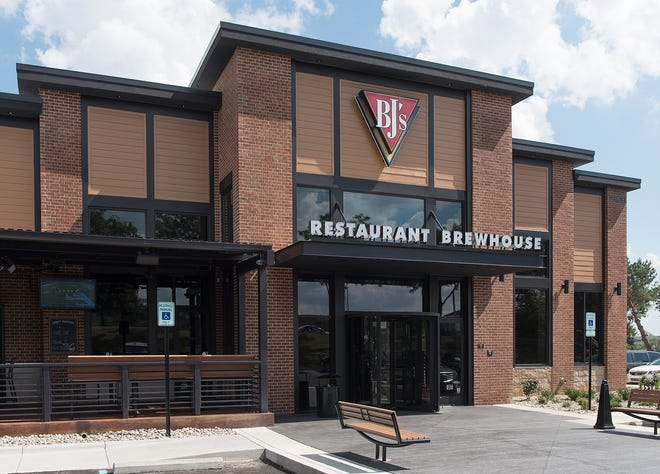 BJ's Restaurant and Brewhouse opened on Labor Day.