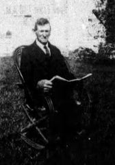 Michael Ringrose at Ringrose Plantation in Opelousas during the early 1900s.