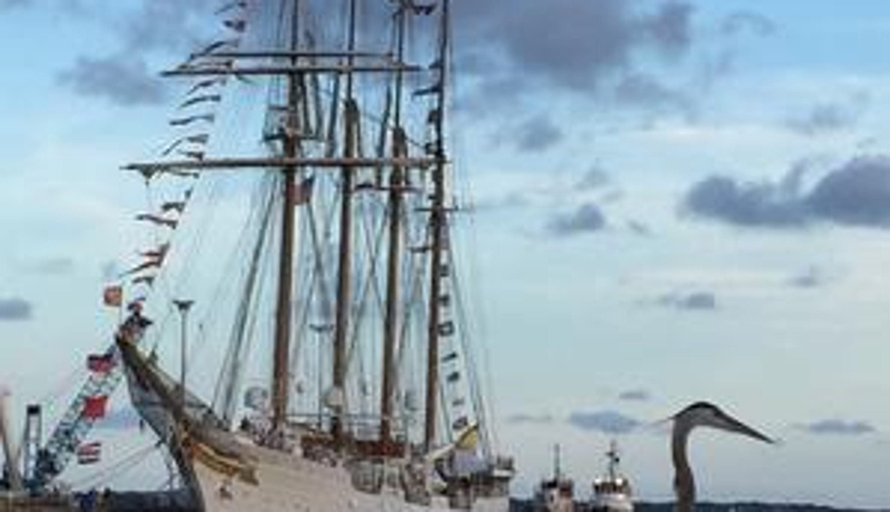 Juan Sebastián Elcano Ferdinand Magellan S Replacement: Spanish Tall Ship Elcano To Return To Pensacola In Spring