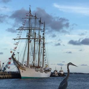 Spanish tall ship Juan Sebastian de Elcano returns to Pensacola March 31