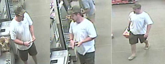 Florida Highway Patrol is looking for this suspect who made more than $500 of fraudulent transactions at a Home Depot in April 2018.