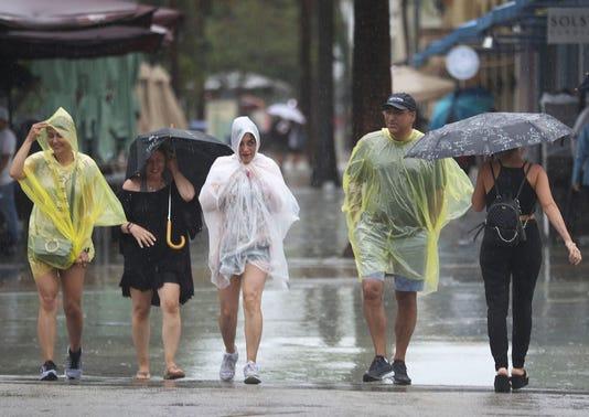 Tropical Storm Gordon Brings Rain To Southern Florida