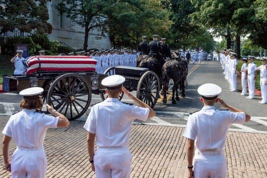 McCain Annapolis funeral