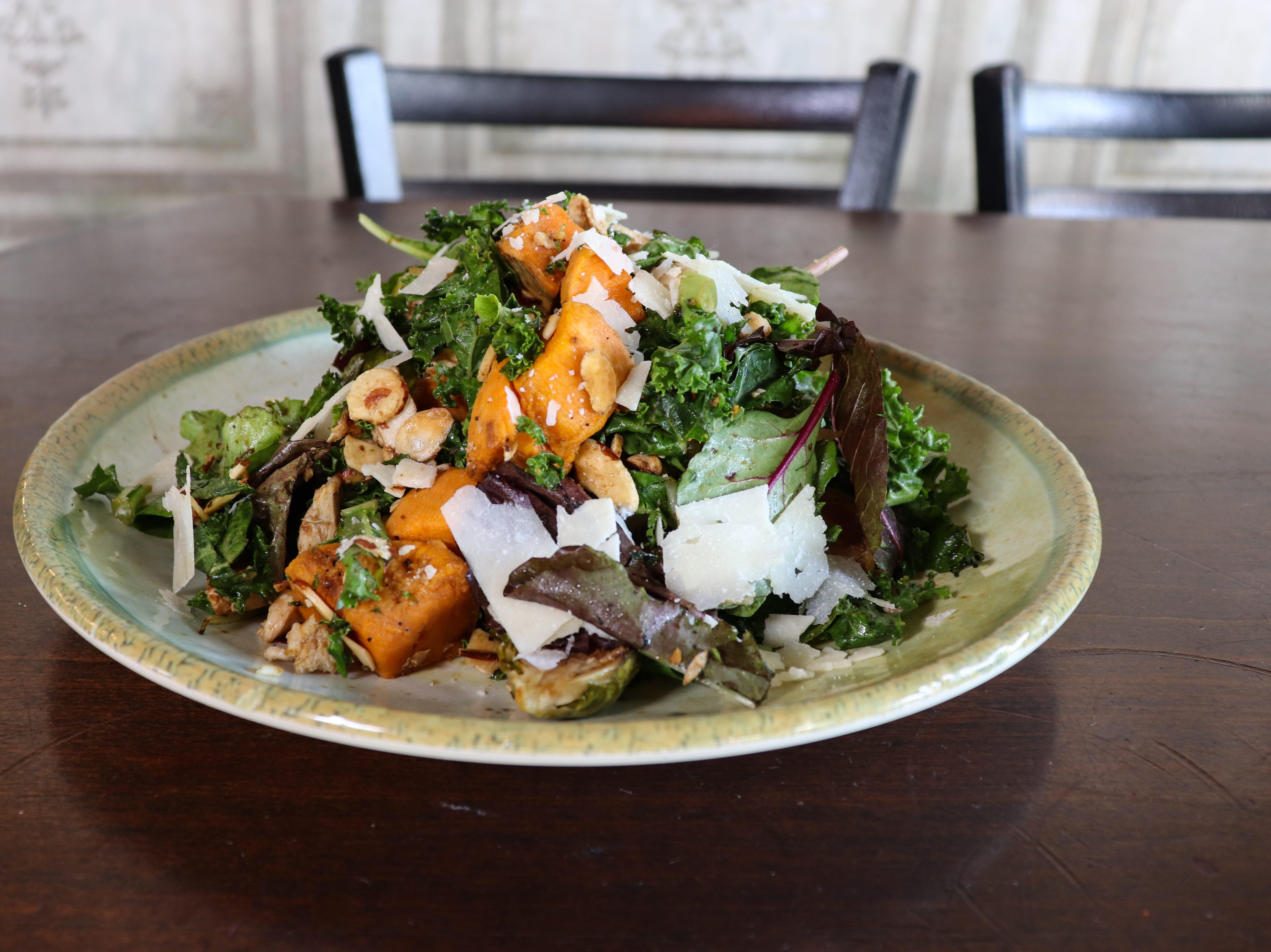 The Goodness Greeness salad at Crust Pizzeria and Italian Restaurant.