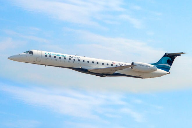 California Pacific Airlines will offer service six days a week between Phoenix-Mesa Gateway Airport and Carlsbad, Calif.