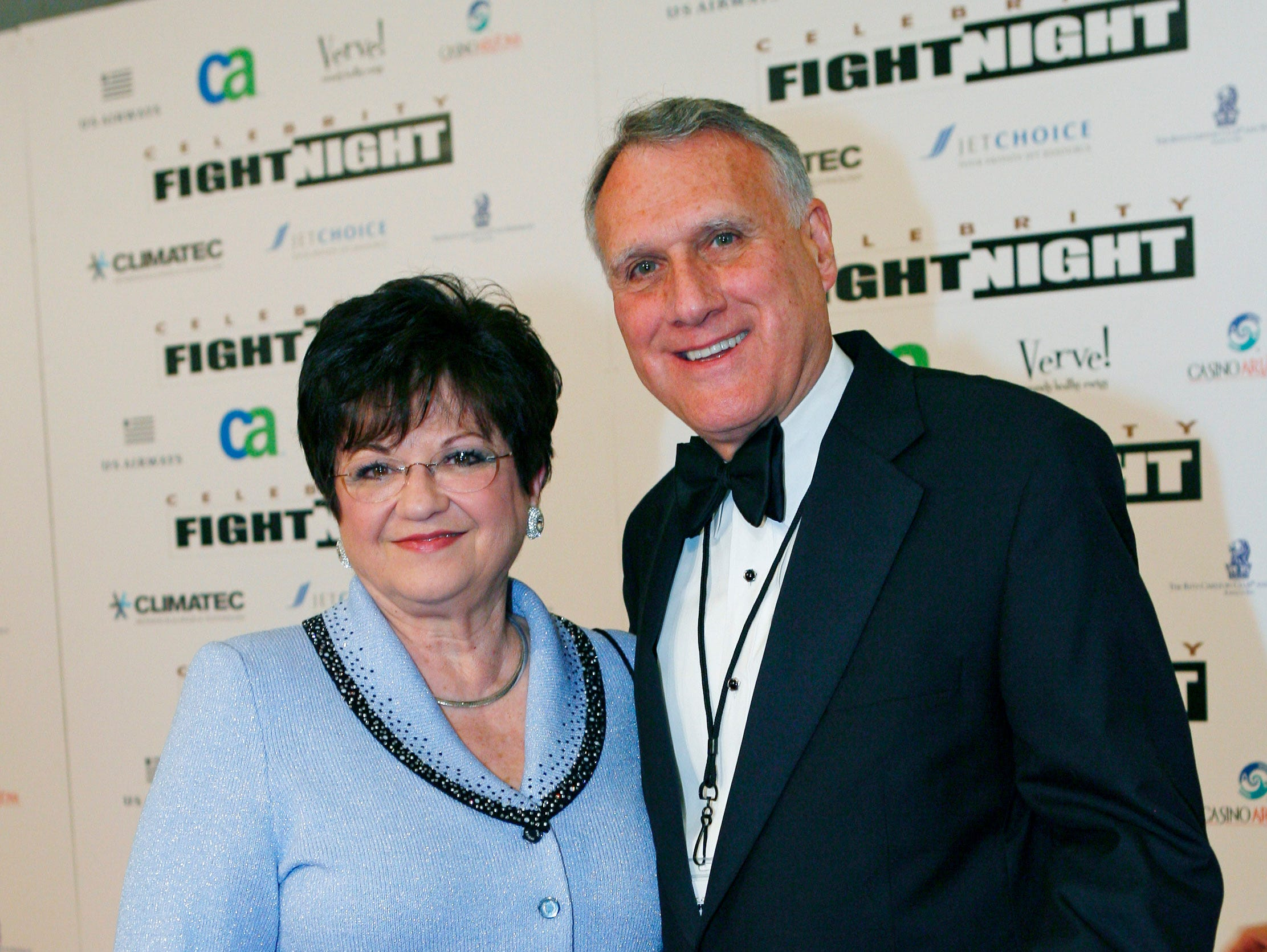 Sen. Jon Kyl and wife Caryll, arrive for Muhammad Aliõs Celebrity Fight Night XV, March 28, 2009, at the JW Marriott Desert Ridge Resort and Spa in Scottsdale.