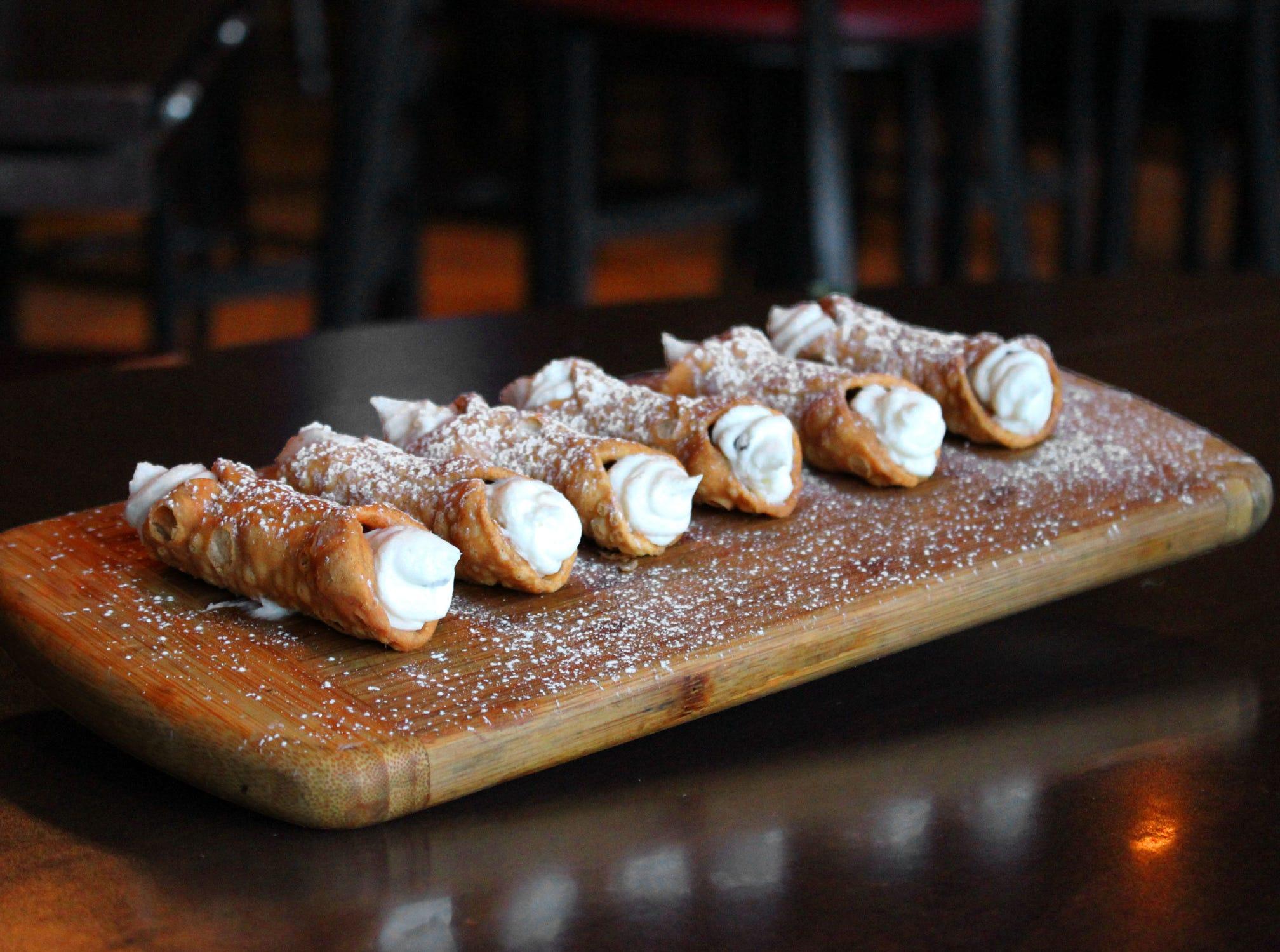 Cannoli at Crust Pizzeria and Italian Restaurant.