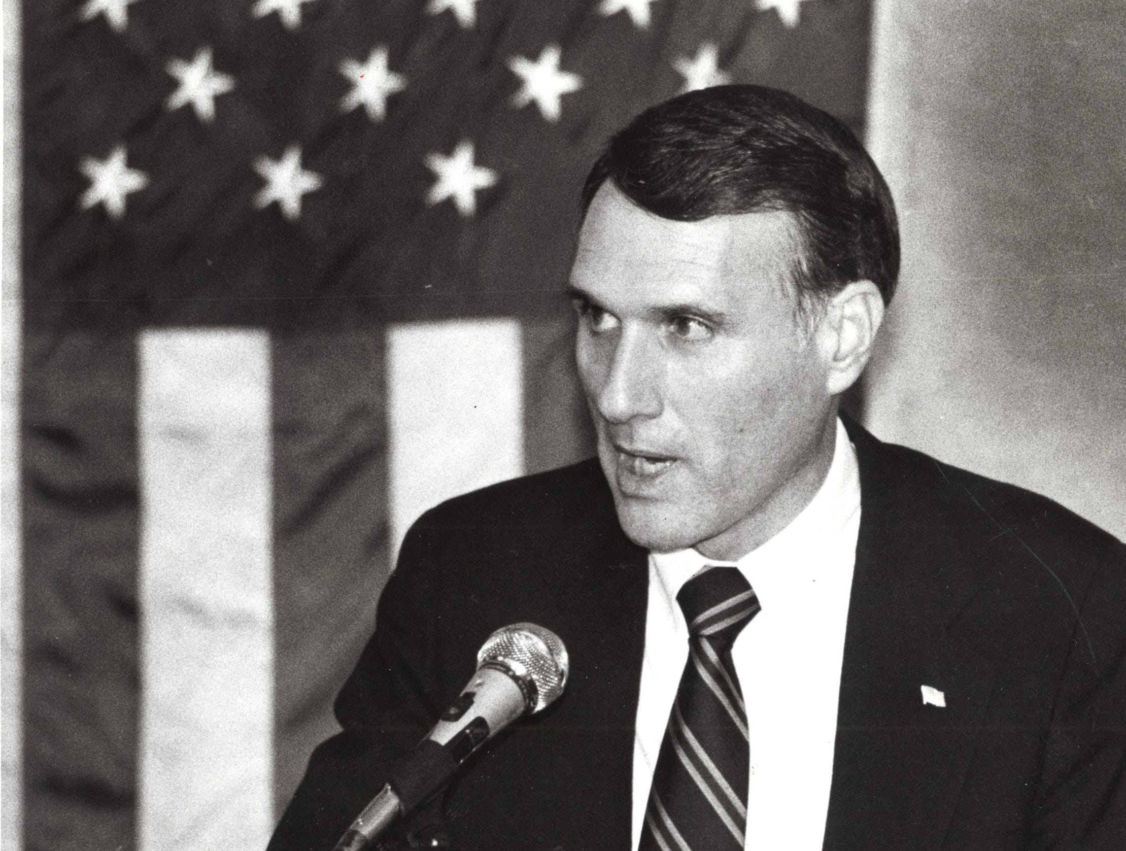 Jon Kyl, candidate for Congressional District 4, Oct. 3, 1986.