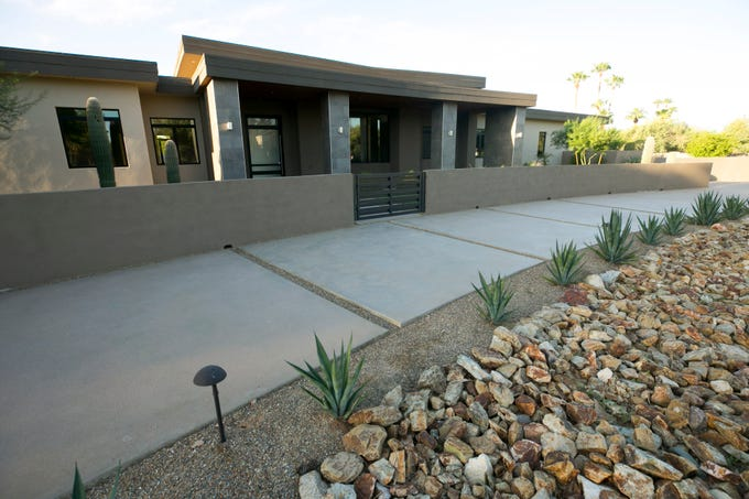 One of the Arizona Coyotes newest hockey players, Alex Galchenyuk, bought a house in the heart of Paradise Valley that has 7,000 square feet, 5 bedrooms, 6½  bathrooms. a master suite complete with a den and a backyard pool with a swim-up bar.