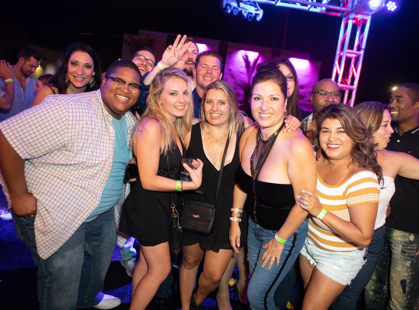 DJ Pauly D packed Hi-Fi as he played tracks that kept the dance floor moving on Saturday, Sept. 1, 2018 in Scottsdale.