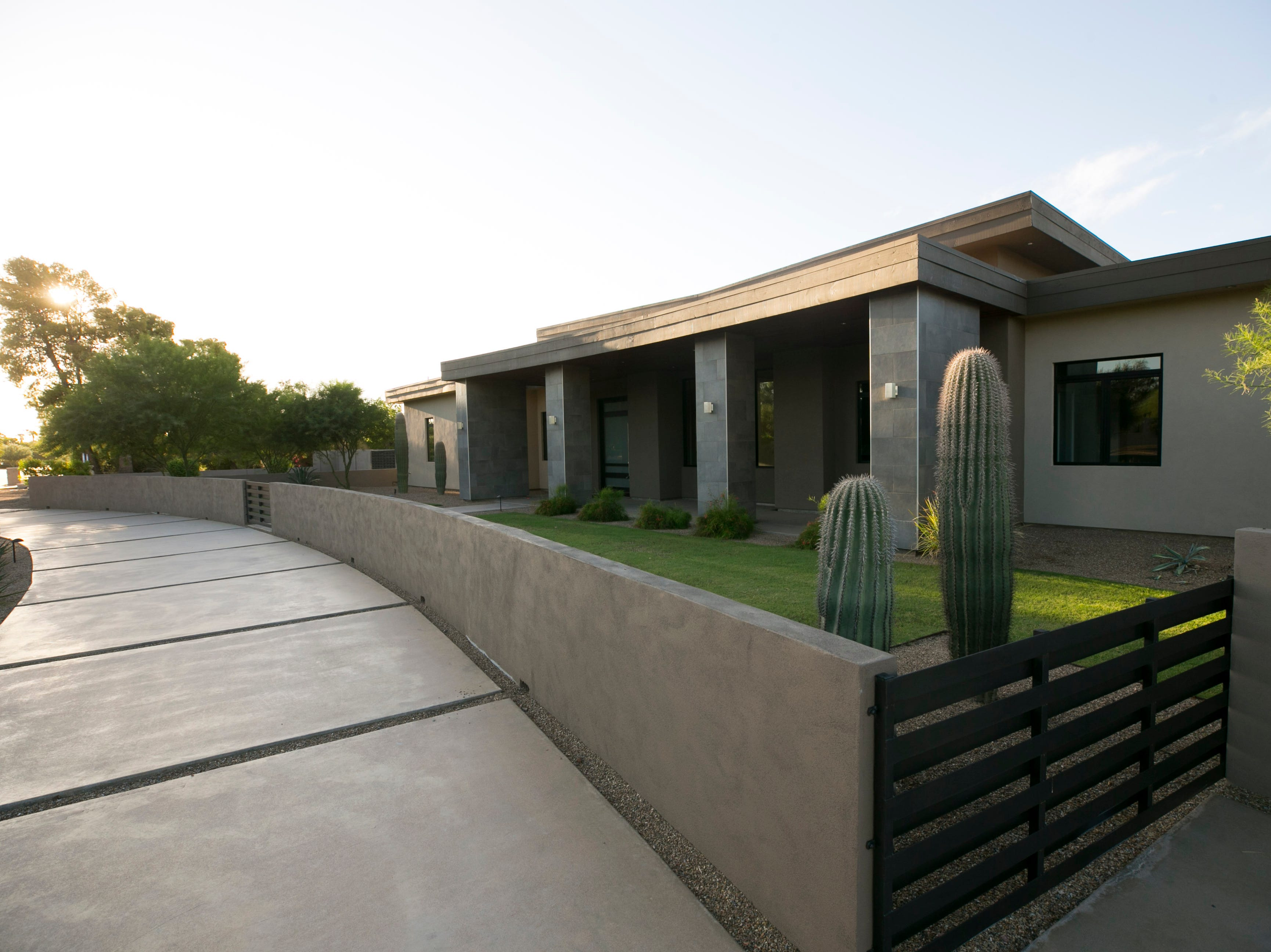 One of the Arizona Coyotes newest hockey players, Alex Galchenyuk, bought a house in the heart of Paradise Valley that has 7,000 square feet, 5 bedrooms, 6½ bathrooms. a master suite complete witha den and a backyard pool with a swim-up bar.