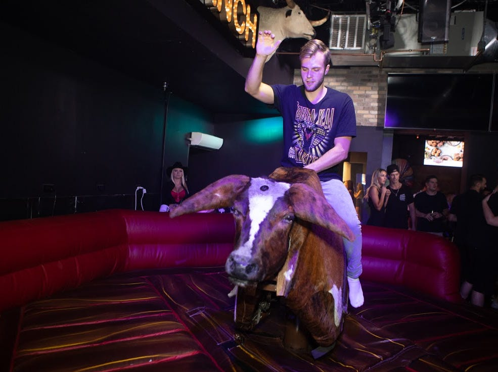 Mill Avenue's newest nightlife addition Rodeo Ranch opened on Friday Aug. 31, 2018, in Tempe.