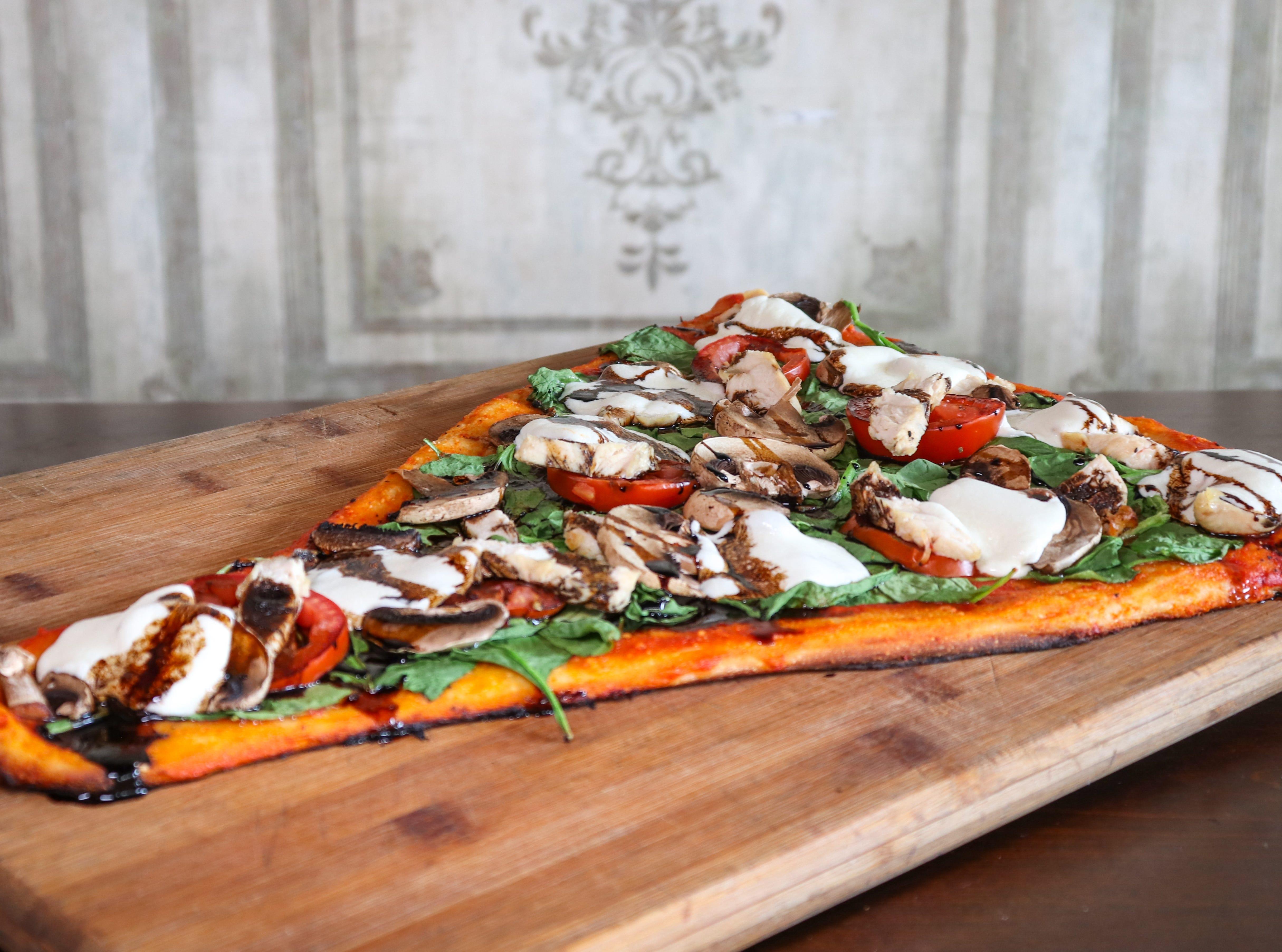 Rustica pizza at Crust Pizzeria and Italian Restaurant.