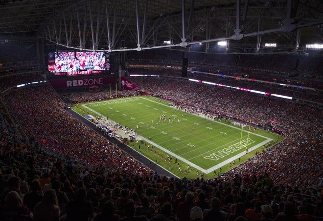 University of Phoenix Stadium is going to be named State Farm Stadium.