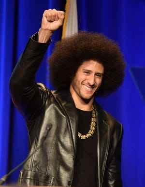 Colin Kaepernick hasn't played in an NFL game since the 2016 season.