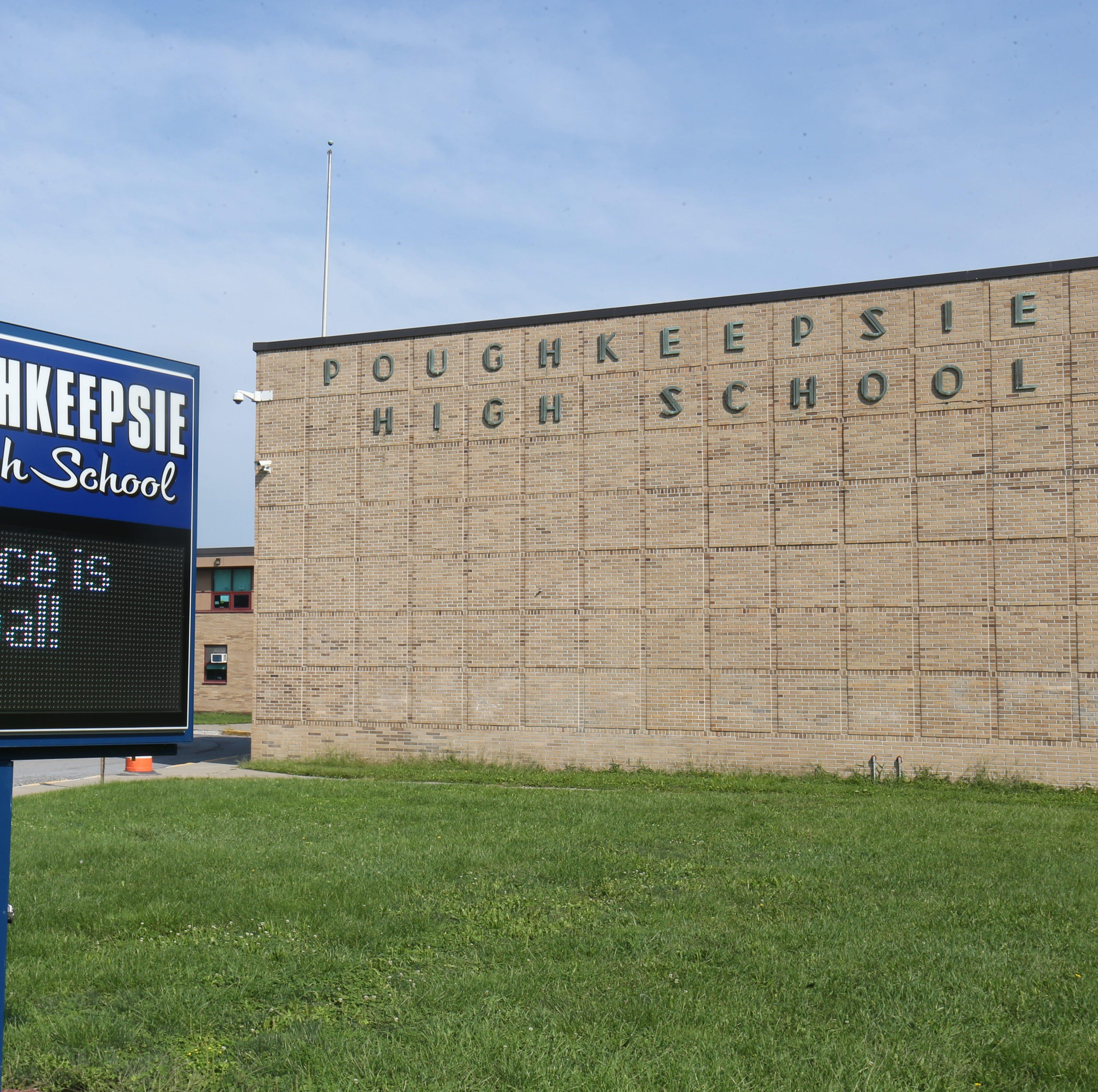 Poughkeepsie High School on August 28, 2018.