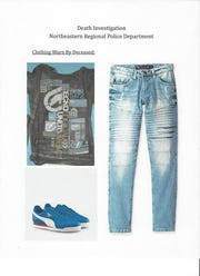 Police said a man whose body was found in the Codorus Creek in E. Manchester Twp. On Aug. 28, 2018, was wearing clothing similiar to these items.