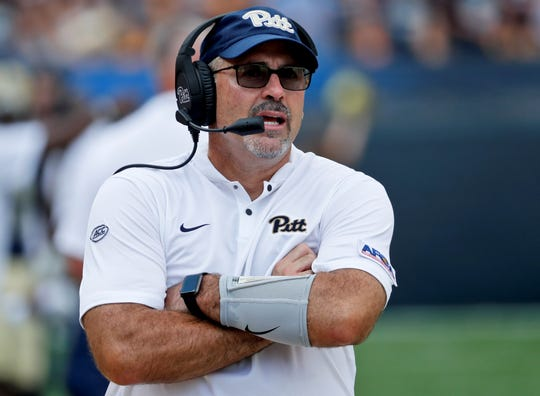 Pitt head football coach Pat Narduzzi