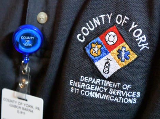 Gábor Barna talked about conditions at York County Department of Emergency Services, at his home, Friday, August 31, 2018. The 911 Center employee resigned from the county after the interview. Bill Kalina photo