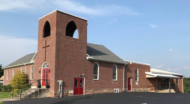 Strinestown United Brethren in Christ Church today.