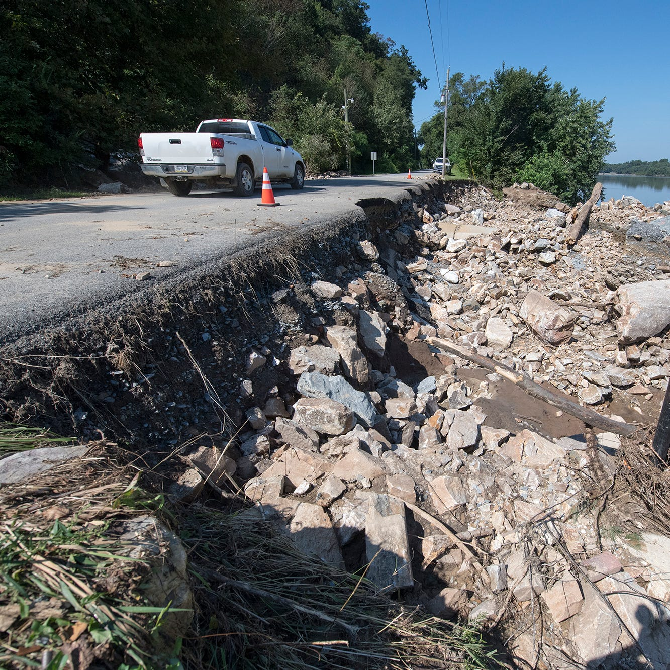 Why was flooding so bad near the Susquehanna? There's a geological explanation