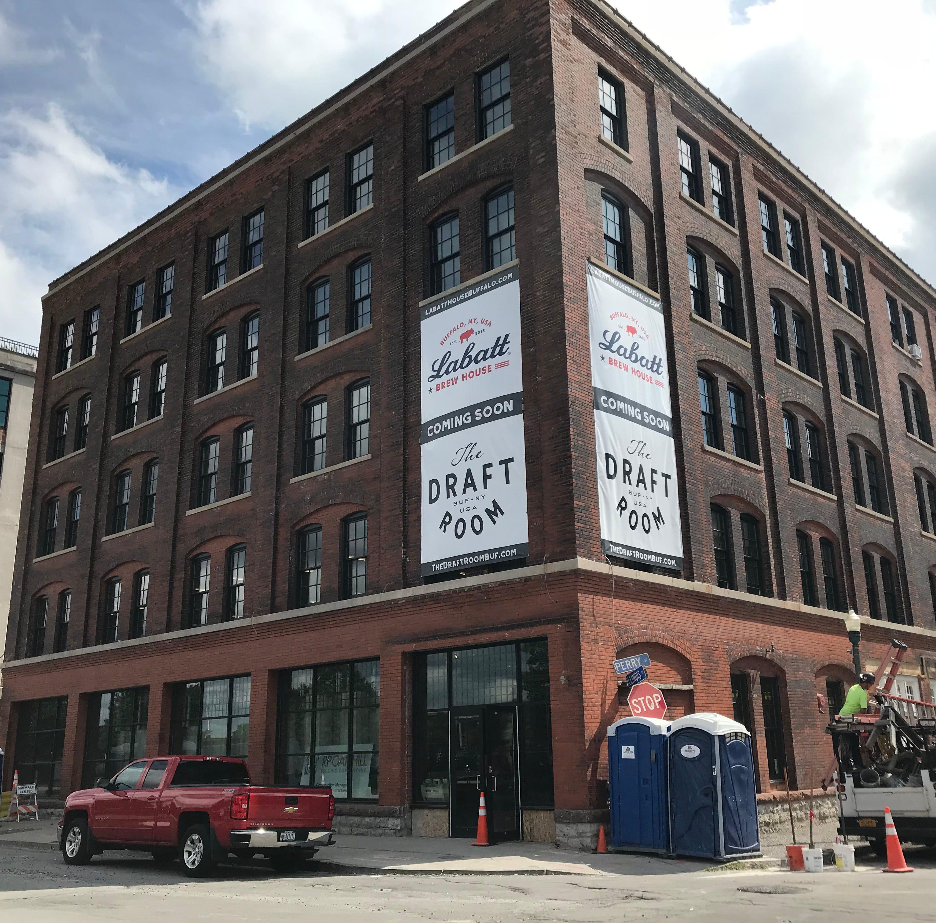 Following Genesee Brew House model, Labatt Brew House in Buffalo nears open