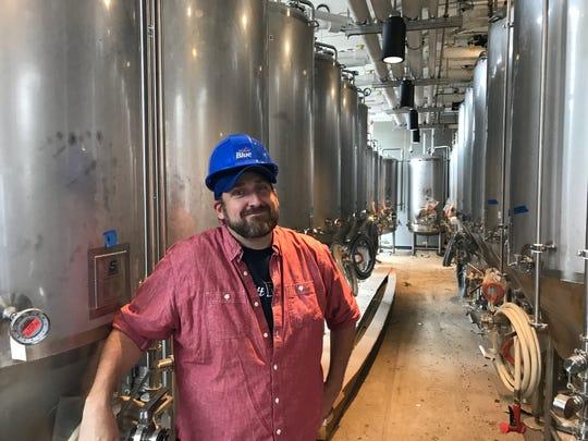 Ryan Brady, brewmaster at the new Labatt Brew House in Buffalo.