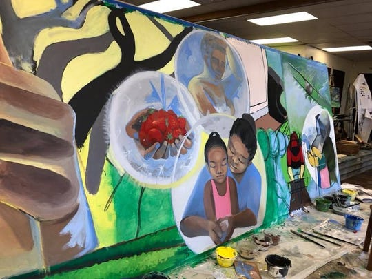 As part of a collaboration, the CHAMACOS research study and Hijos del Sol Arts Productions mural will showcase Friday at the CSUMB Salinas Center for Arts and Culture.