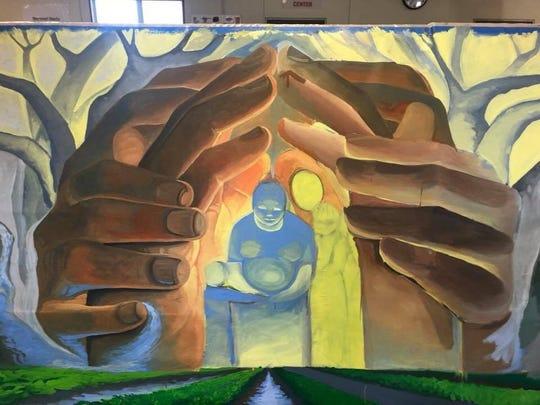 Como parte de una colaboración, el estudio de investigación de CHAMACOS y el mural Hijos del Sol Arts Productions se exhibirá el viernes en el Centro Salinas para las Artes y la Cultura de CSUMB.