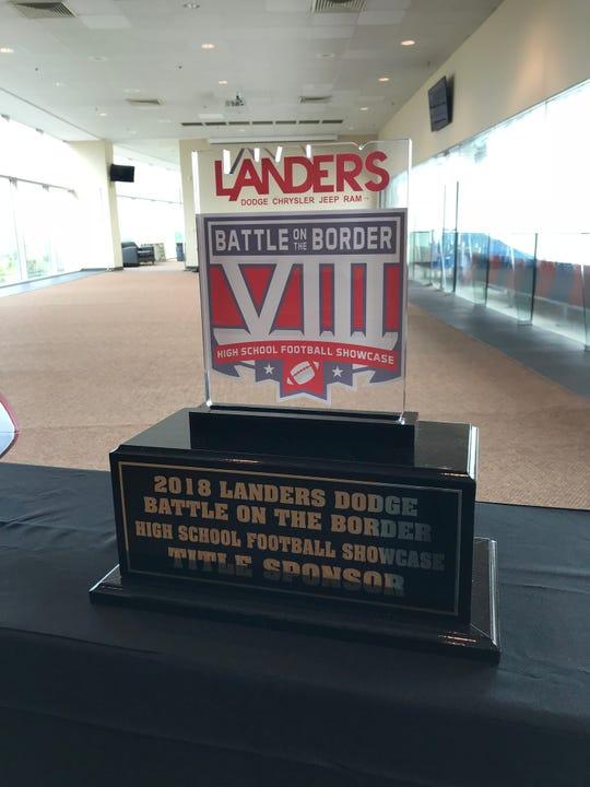 Landers Battle on the Border trophy