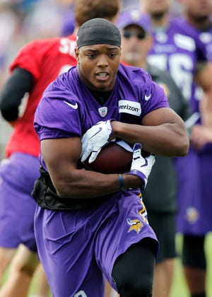 Former Augustana running back C.J. Ham was named to his first Pro Bowl in his fourth NFL season.