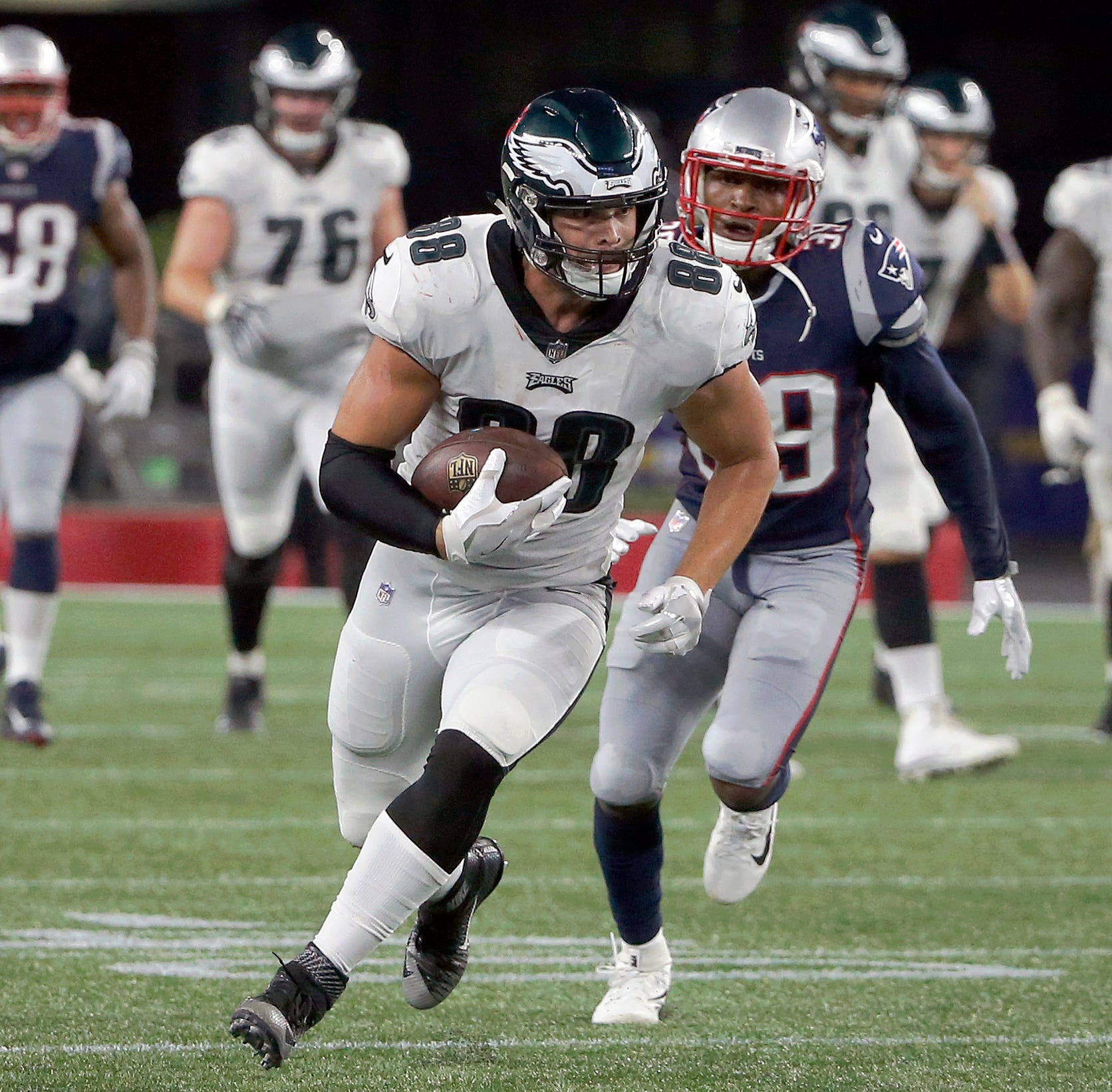 Dallas Goedert, Nate Gerry, highlight South Dakotans on NFL rosters as season looms