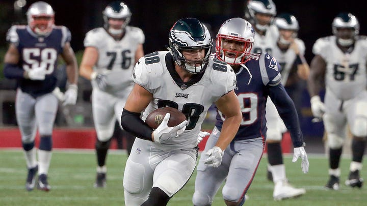 After successful rookie year, Dallas Goedert aims higher for Philadelphia Eagles