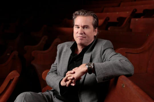 In this Jan. 9, 2014 file photo, Val Kilmer poses for a portrait in Nashville, Tennessee.