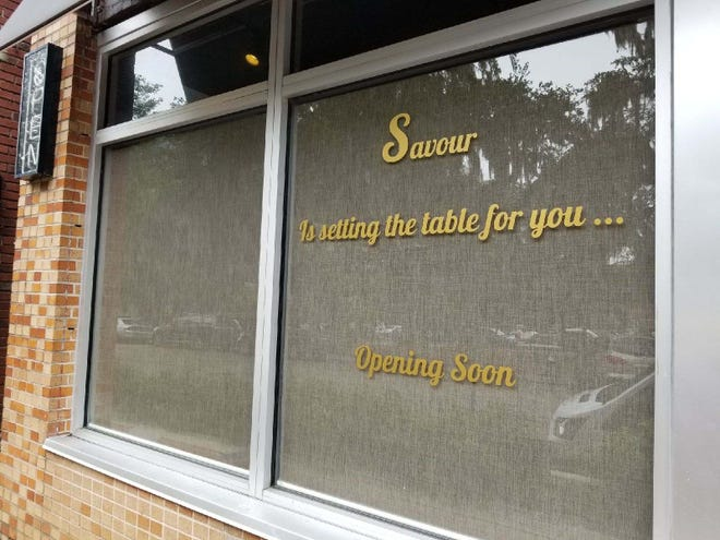 Savour is opening in the former Avenue Eat & Drink location as a new upscale restaurant in downtown Tallahassee on Park Avenue. It's slated to open Oct. 15.