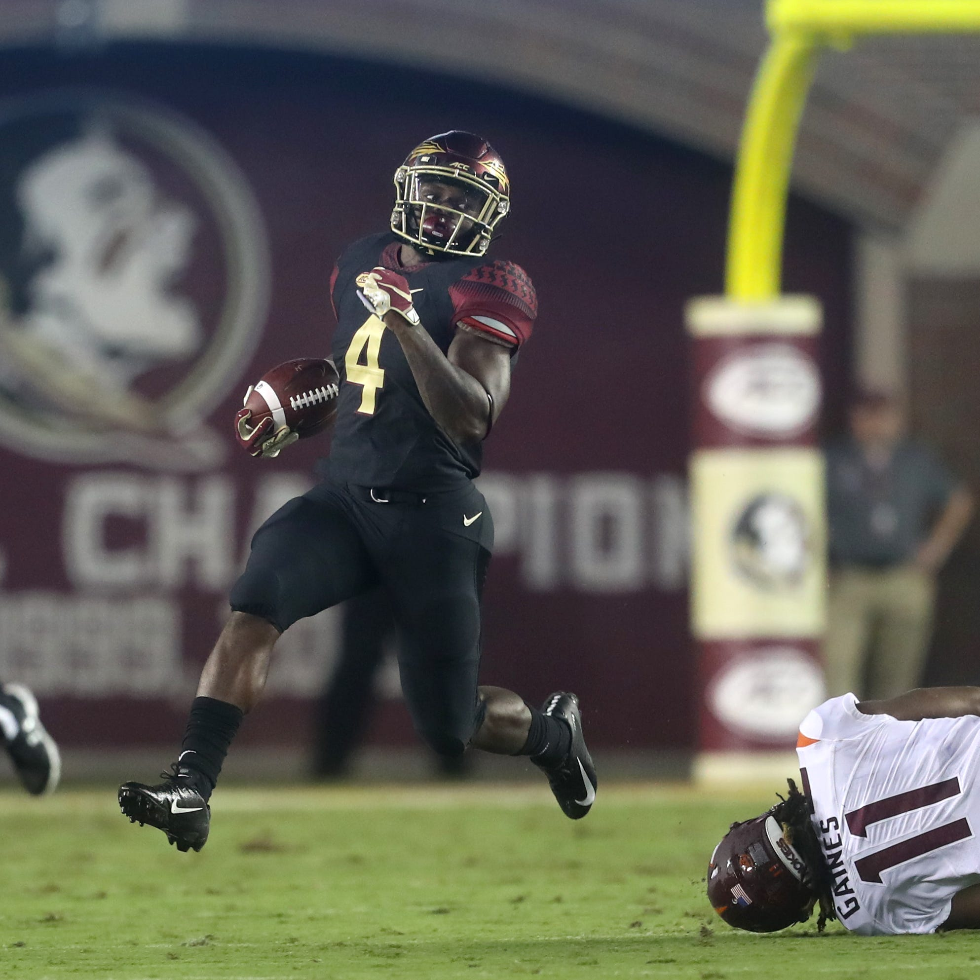 Florida State running back Khalan Laborn out for the season