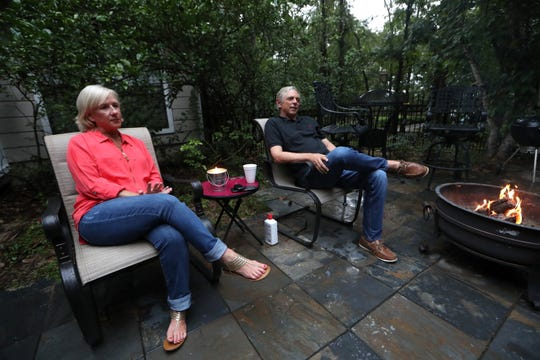 Jackie Pons and his wife Kay talk about the FBI investigation that, after more than four years, was dropped with no charges against the former Leon County School's Superintendent, from their home on Thursday, Aug. 16, 2018.