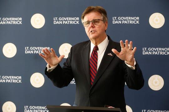 Texas Lt. Gov. Dan Patrick