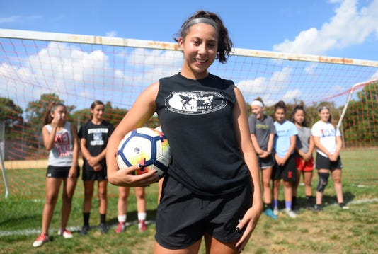 Vineland Girls Soccer Gabby Perez