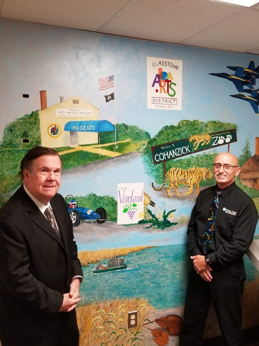 Cumberland County Freeholders With Mural