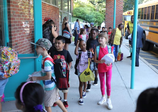 First Day Of School Hartsdale