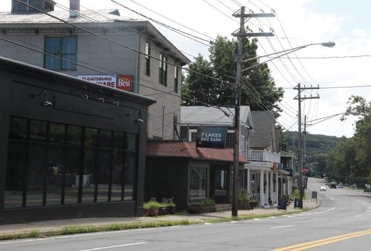 Shops on Route 17 in Sloatsburg on Aug. 22, 2018.